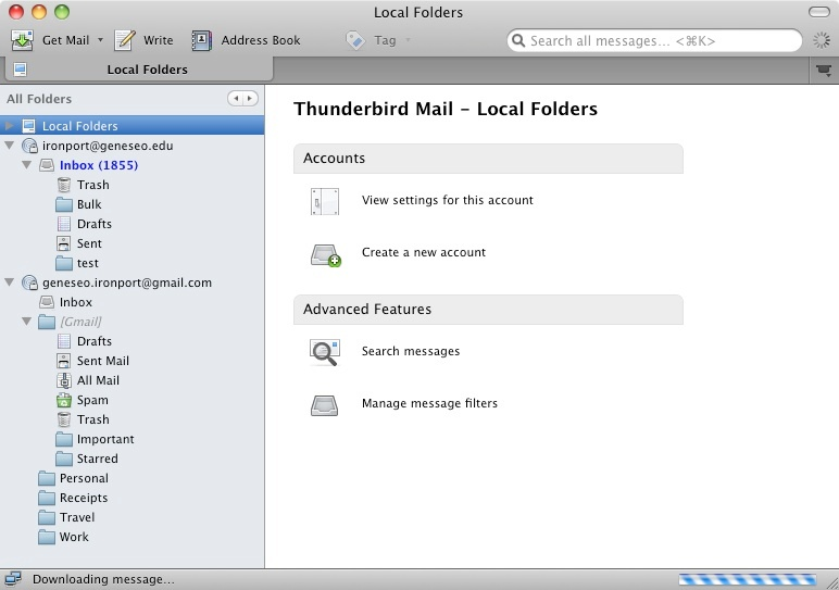how to send an email to multiple contacts in thunderbird