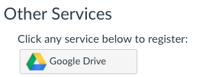Other Services, Google Drive